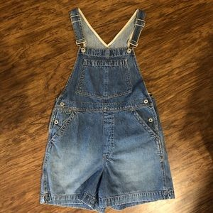 Vintage GAP 90's overall shorts - Size Medium